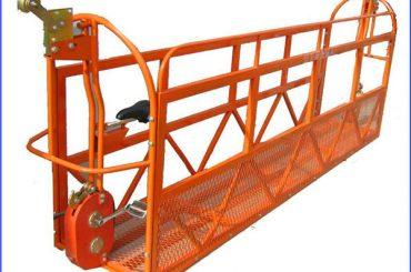 6 എം 1.5kw 630kg സ്റ്റീൽ വയർ 8.3 മില്ലീമീറ്റർ അഴുകൽ സ്കെയിൽഡ് പ്ലാറ്റ്ഫോം പ്ലാറ്റ്ഫോമുകൾ അലുമിനിയം