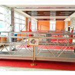 zlp630 അലുമിനിയം സസ്പെൻഡഡ് പ്ലാറ്റ്ഫോം (സി ഐസോ ഗൊസ്റ്റ്) / ഉയർന്ന ഹീജ് വിൻഡോ ക്ലീനിംഗ് ഉപകരണം / താൽകാലിക ഗൊണ്ടോള / തൊട്ടികൾ / സ്വിംഗ് ഘട്ടം ചൂട്